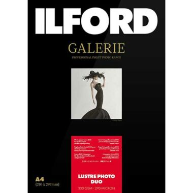 ILFORD Galerie Lustre Photo Duo 330gsm
