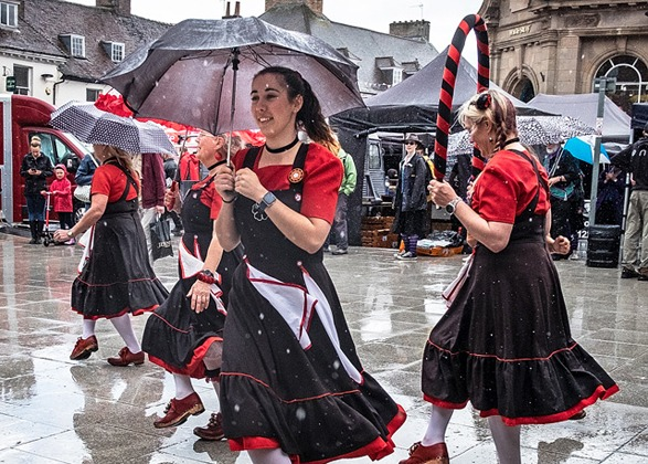 It never rains at Wimborne Minster Folk Festival: John Tilsley on shooting in unexpected conditions