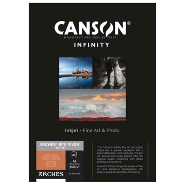 Canson BFK Rives White